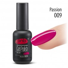 Гель-лак PNB 009 Passion - UV Gel Polish PNB (8 ml)