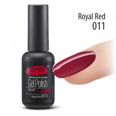 Гель-лак PNB 011 Royal Red - UV Gel Polish PNB (8 ml)